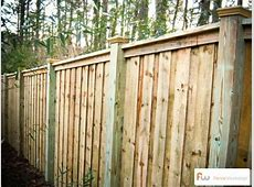 The McWorter™ Wood Privacy Fence Pictures & Per Foot