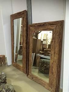 Spiegel 200 X 100 : spiegel teakholz recycled wandspiegel holzrahmen ma e 160 x 100 cm ~ Markanthonyermac.com Haus und Dekorationen