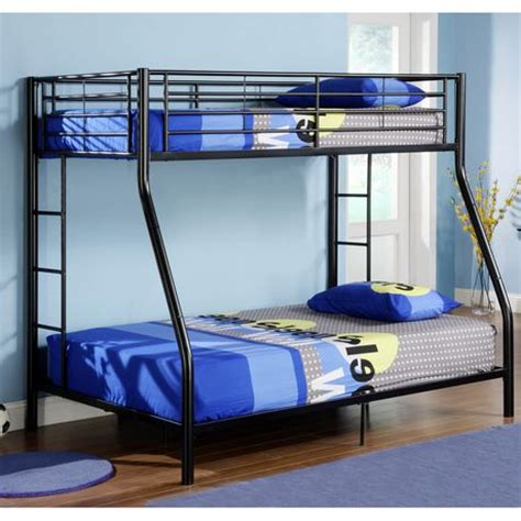 Futon Bunk Bed Walmart by Twin Over Double Bunk Bed Black Walmart Canada