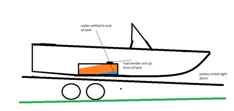 Boat Gas Tank Hatch by Water In Fuel Problem Sorted Fishing Fishwrecked