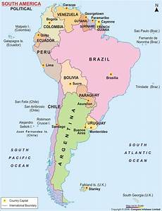 Travel Medicine Information for Countries in South America ...