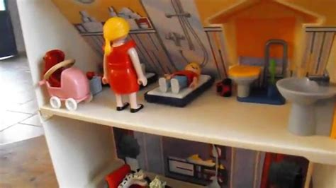 playmobil la maison transportable