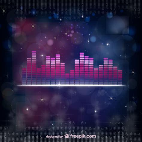 Sound equalizer vector Vector  Free Download