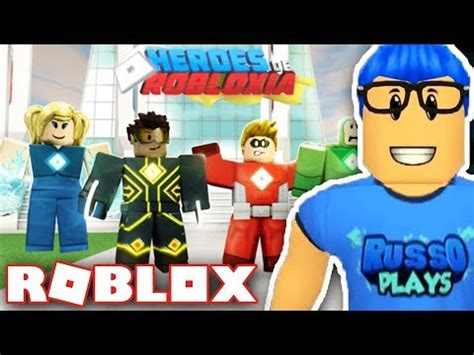 Brand New Roblox Game!!  Heroes Of Robloxia  How To Get