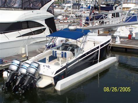Cigarette Boat Center Console For Sale by Cigarette Decathlon 31ft Center Console Triple 225 For