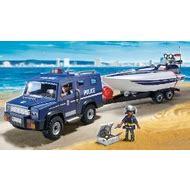 Speedboot Preise by Playmobil 5187 Polizei Truck Mit Speedboot Preisvergleich