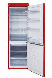 Retro Kühlschrank Gefrierkombination : respekta retro k hlschrank k hl gerfrier kombination 190 cm rot ebay ~ Markanthonyermac.com Haus und Dekorationen