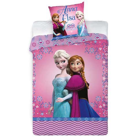parure de lit la reine des neiges imprim 233 e linge de lit kiabi 23 00