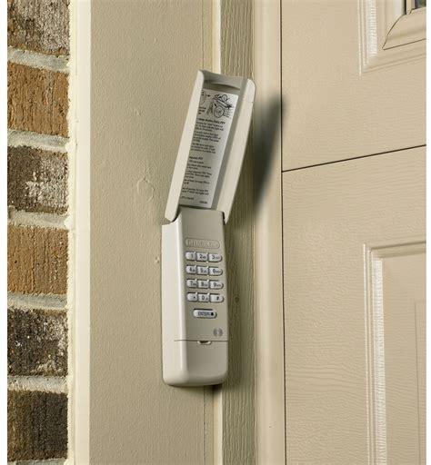 Garage Door Opener Keypad Chamberlain Wireless Rolling
