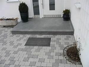 Treppe Hauseingang Bilder : hauseingang homepage von galabau meitinger 86637 binswangen ~ Markanthonyermac.com Haus und Dekorationen