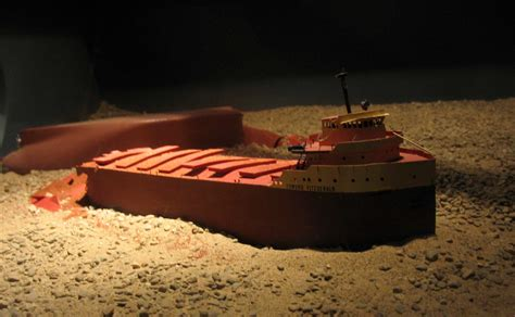 Sinking Of The Ss Edmund Fitzgerald by Edmund Fitzgerald Remembered Great Lakes Gazette