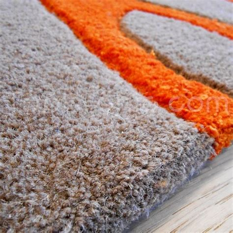 carrelage design 187 tapis orange et gris moderne design pour carrelage de sol et rev 234 tement de