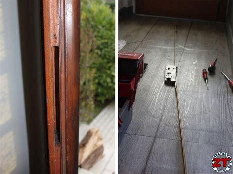 comment reparer une porte 3 points