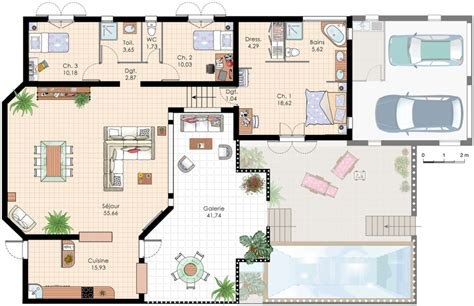 plan de villa recherche plan de maison villas house and villa plan
