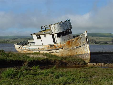 Boat Browser Old Version by Point Reyes Old Boat On The Beach Flickr Photo Sharing