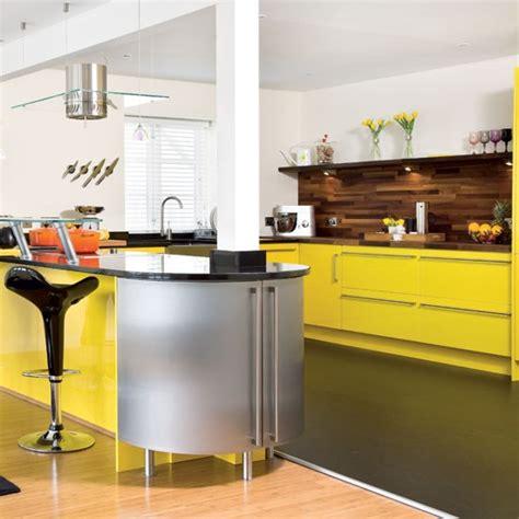 Take A Tour Around A Bright Yellow Kitchen  Housetohomecouk