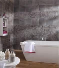 carrelage mural salle de bain gr 232 s c 233 rame gris leroy merlin