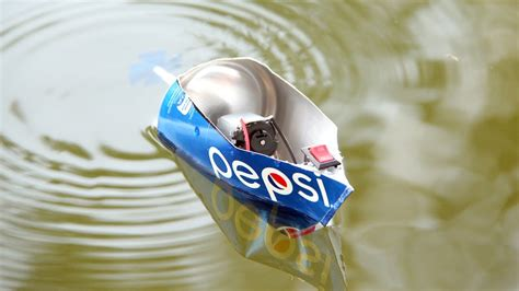 Toy Boat At Home by How To Make A Electric Motor Pepsi Boat Toy Motor Boat
