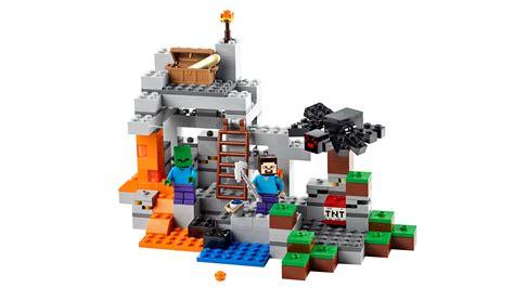 Amazoncom LEGO Minecraft The Cave 21113 Toys & Games