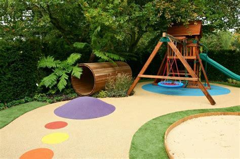 Klettergerüst Im Garten  Eine Fantastische Spielecke Für