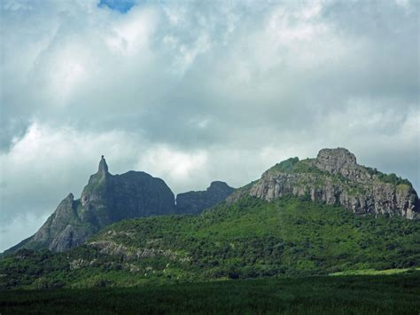 The Young Volcanic Landscape Of Mauritius