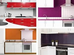 Küche Farbe Wand : wandgestaltung mit farbe k che ~ Markanthonyermac.com Haus und Dekorationen