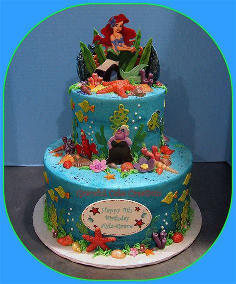 ariel birthday cake ariel mermaid birthday cake grace tari flickr