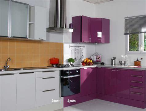 d 233 co int 233 rieur pourpre repeindre meuble cuisine avec resinence deco maison design d 233 co