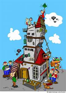 Bilder Hausbau Comic : illustration noch 39 n tower ~ Markanthonyermac.com Haus und Dekorationen