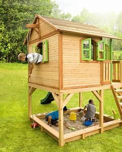 Bausatz Haus Für 25000 Euro : holz kinderspielhaus auf stelzen sandkasten garten 173x113cm haus innenma spielhaus ~ Markanthonyermac.com Haus und Dekorationen