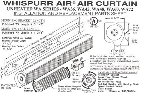 mars air curtain wiring diagram air bag system diagram mars air curtains parts mars air