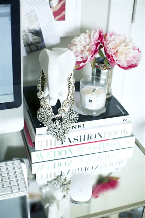 my workspace pink peonies by rach parcell