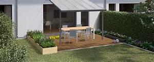 Terrassengestaltung Kleine Terrassen : terrasse bauen gestalten obi gartenplaner ~ Markanthonyermac.com Haus und Dekorationen