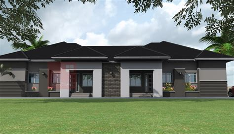 Contemporary Nigerian Residential Architecture 3 Bedroom