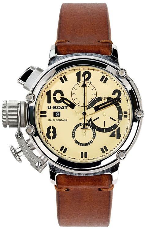 U Boat Watch Limited Edition by U Boat Watch Chimera 48 925 Silver Limited Edition Men S