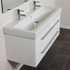 Waschtischunterschrank 120 Cm : badm bel set 120 cm keramag icon waschtisch waschbecken mit unterschrank wei ebay ~ Markanthonyermac.com Haus und Dekorationen