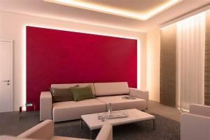 Wand Indirekt Beleuchten : indirekte beleuchtung led innenbeleuchtung mit paulmann led strips paulmann licht ~ Markanthonyermac.com Haus und Dekorationen