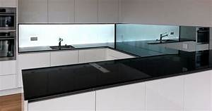 Glasrückwand Küche Beleuchtet : glasr ckwand k chenr ckwand aus esg glas r ckseitig weiss bedruckt ~ Markanthonyermac.com Haus und Dekorationen
