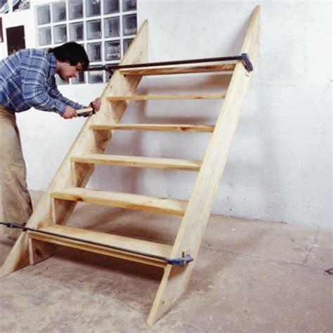 fabrication d un escalier ext 233 rieur en bois syst 232 me d maisonbrico