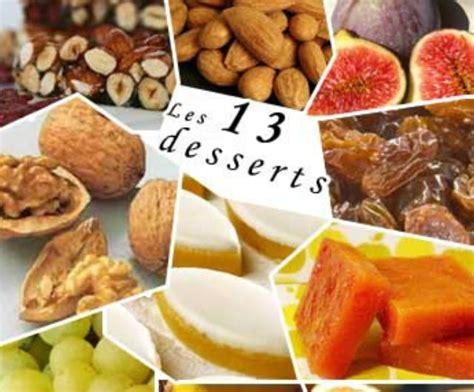 13 dessert de noel liste my