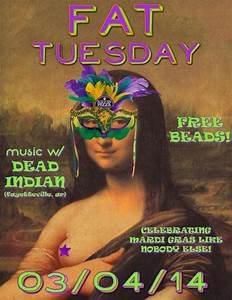 FAT TUESDAY w/ Dead Indian (AR)!! - Bears Den Pizza Bears ...