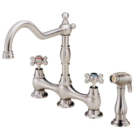 danze opulence 2 handle standard kitchen faucet with