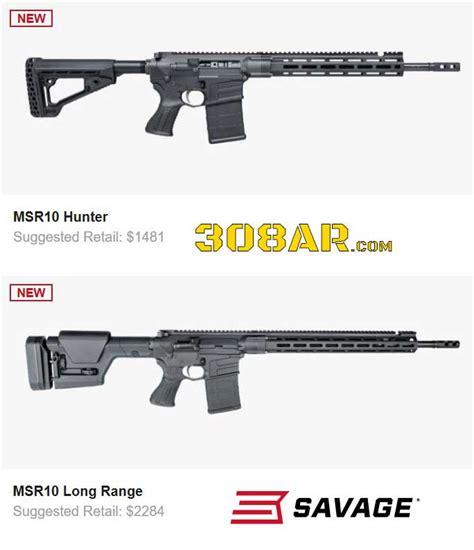 Savage Arms Msr Rumors  Ar 308 Savage Rifle  308 Ar