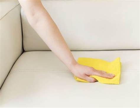 nettoyer un canap 233 en cuir tout pratique