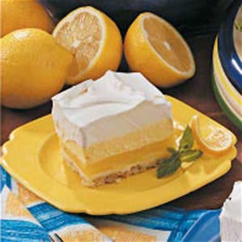 lemon dessert recipe taste of home