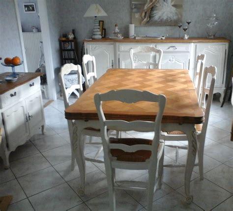 impressionnant relooking salle a manger rustique et relooker une table en chaane ou merisier