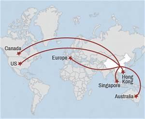 Most popular emigration destinations for China's elite ...
