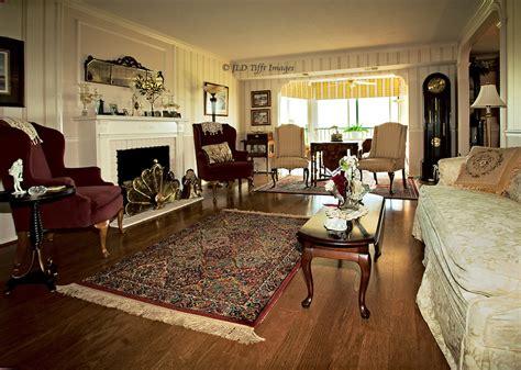 Upscale Apartment Living Room Interior