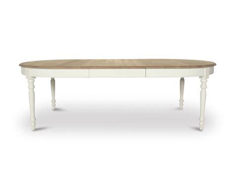 table ovale avec rallonge table de lit