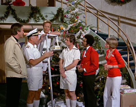 Love Boat Julie Gets Married by Christmas Tv History Love Boat Christmas 1977